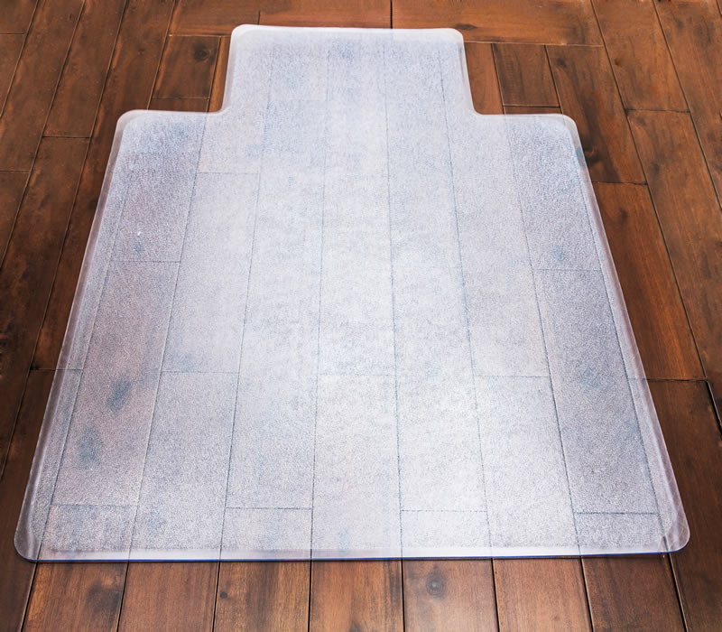Clear Edge chair mat Smooth with lip